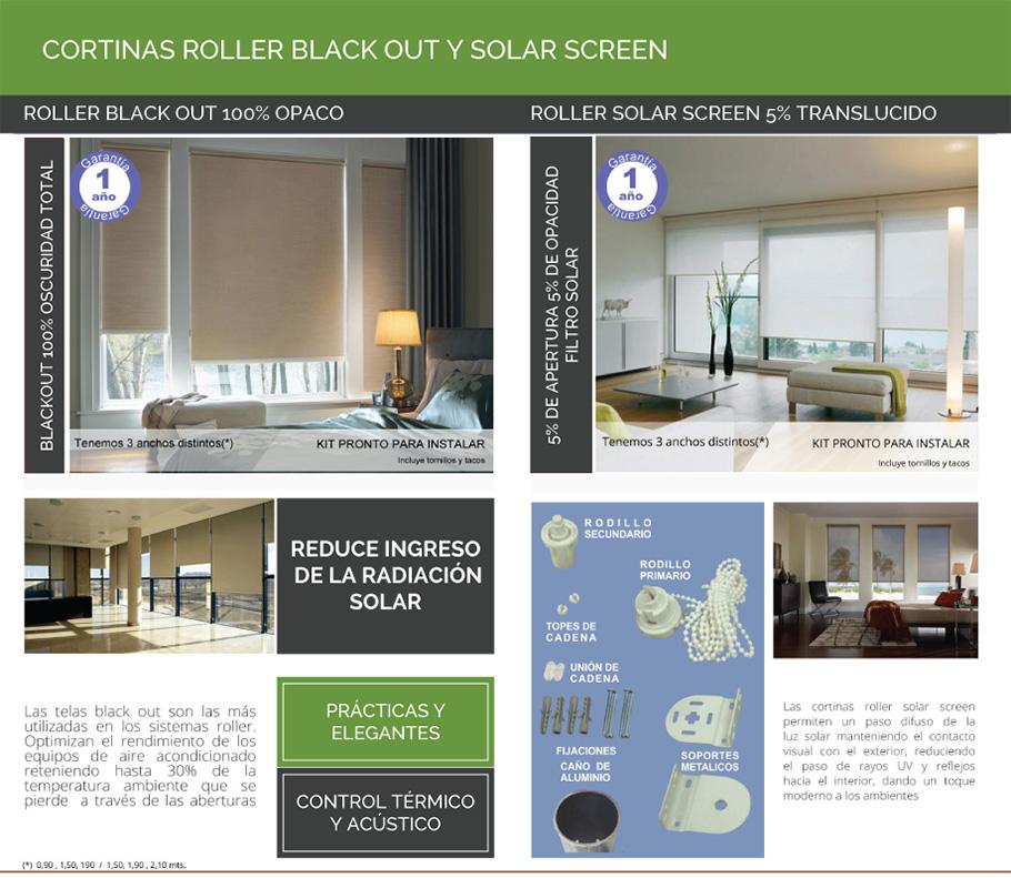 Cortinas roller screen filtro solar consulte ofertas us - Volantes de cortinas ...