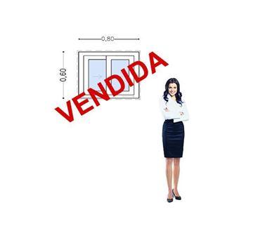 Imagen de 35%OFF-Ventana DOBLE VIDRIO PVC 80 x 60
