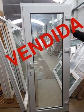 Imagen de 30%OFF-Puerta PVC DVH 80 x 200 doble vidrio batiente