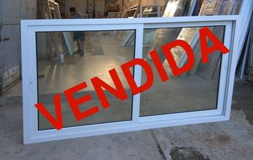Imagen de 20%OFF-Ventana PVC DVH 200 x 120  doble vidrio  corredizas