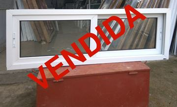 Imagen de 25%OFF-Ventana DOBLE VIDRIO PVC 160 x 60