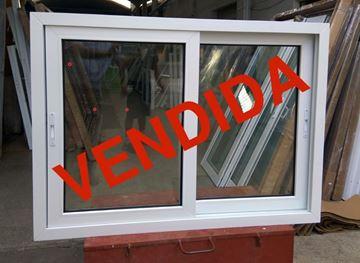 Imagen de 40%OFF-Ventana PVC 140 x 100 doble vidrio  corrediza.