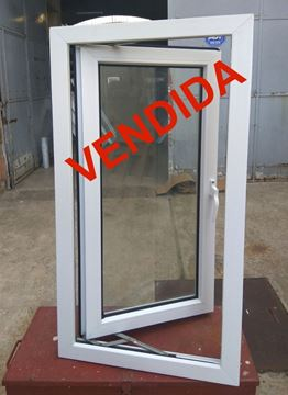 Imagen de 50%OFF-Ventana PVC 60x120 doble vidrio batiente