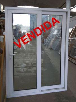 Imagen de 25%OFF-Puerta Ventana PVC 130 x 200 doble vidrio corredizas