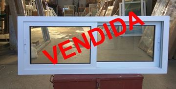 Imagen de 40%OFF-Ventana DOBLE VIDRIO PVC 140 x 60