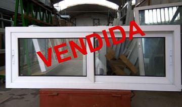 Imagen de 35%OFF-Ventana DOBLE VIDRIO PVC 160 x 60