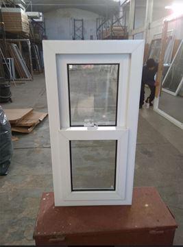 Imagen de 35%OFF-Ventana PVC 50 x 100 doble vidrio guillotina.
