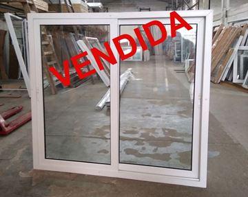 Imagen de 40%OFF-Ventana PVC DVH 160 x 160  doble vidrio corredizas