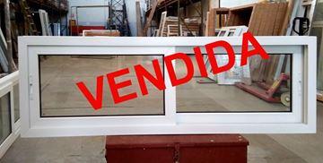 Imagen de 40%OFF-Ventana DOBLE VIDRIO PVC 180 x 60