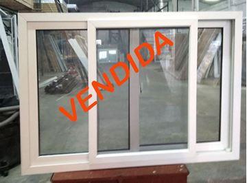 Imagen de 40%OFF-Ventana DOBLE VIDRIO PVC 140X100 CON MOSQUITERO.