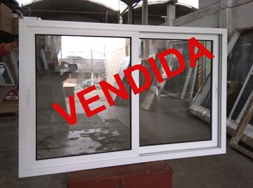 Imagen de 25%OFF-Ventana PVC 180 x 120 doble vidrio corrediza  -STKC180120-02