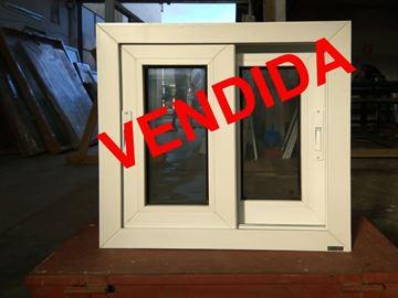 Imagen de 50%OFF-Ventana PVC 60 x 60 doble vidrio corrediza - STKC6060-01
