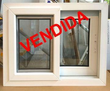 Imagen de 30%OFF-Ventana PVC 60 x 60 doble vidrio corrediza - STKC6060-02
