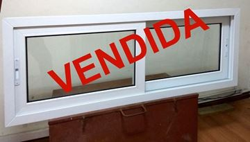 Imagen de 25%OFF-Ventana DOBLE VIDRIO PVC 160 x 60 - STKC16060-04