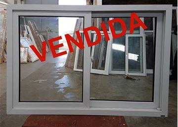 Imagen de 25%OFF-Ventana PVC 140 x 100 doble vidrio  corrediza.