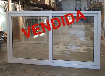 Imagen de 25%OFF-Ventana PVC 200x120  doble vidrio  corrediza - STKC200120-03