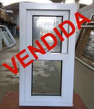 Imagen de 35%OFF-Ventana DOBLE VIDRIO PVC GUILLOTINA 50 X 100 CM - STKG50100-02