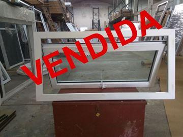 Imagen de 30%OFF-Ventana PVC 120x60 doble vidrio a proyección.