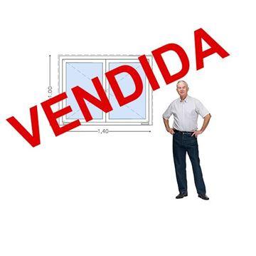 Imagen de 30%OFF-Ventana DOBLE VIDRIO PVC 140 x 100 - STKC140100-01