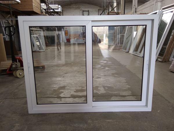 Imagen de 35% OFF-Ventana PVC 160 x 120  doble vidrio corrediza- STKC160120-02
