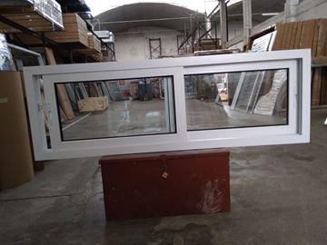 Imagen de 40%OFF-Ventana PVC DVH 180 x 60  doble vidrio corredizas STKC18060-04