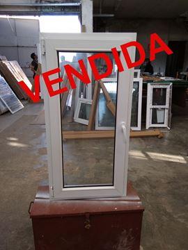 Imagen de 50%OFF-Ventana PVC 60x120 doble vidrio batiente AL EXTERIOR - STKB60120-10