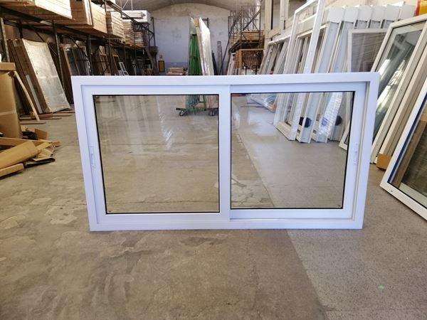Imagen de 30%OFF-Ventana PVC DVH 180 x 100 doble vidrio corrediza -STKC180100-01