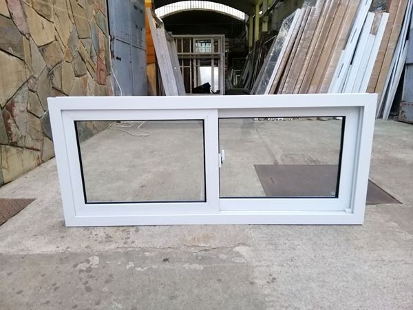Imagen de 25%OFF-Ventana PVC 140x60  doble vidrio  corredizas - STKC14060-04