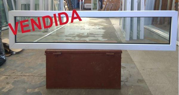 Imagen de VENDIDA  -  40%OFF-Ventana DOBLE VIDRIO PVC FIJO 40 x 180 - STKF40180-01