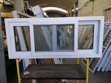 Imagen de 30%OFF-Ventana PVC 140x60  doble vidrio  corredizas - INCLUYE MOSQUITERO-STKC14060 - 04