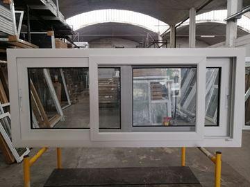 Imagen de 30%OFF-Ventana PVC 140x60  doble vidrio  corredizas -STKC14060-07