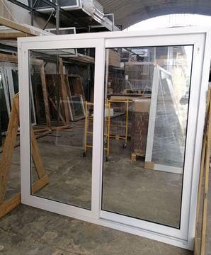Imagen de 15%OFF-Puerta Ventana PVC DVH 200x200  doble vidrio  corredizas - STKC200200-01