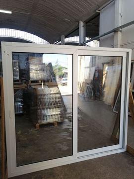 Imagen de 30%OFF-Puerta Ventana PVC DVH 220 x 200  doble vidrio  corredizas - STKC220200-01