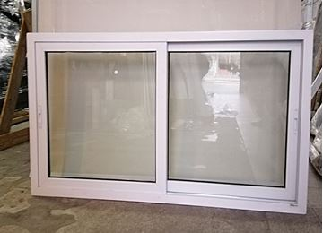 Imagen de 30%OFF-Ventana PVC DVH 180 x 100 doble vidrio corredizas - STKC180100-02