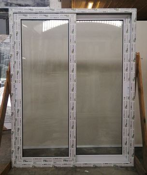 Imagen de 30%OFF-Puerta Ventana PVC 150 x 205 doble vidrio corrediza - MED150205-01