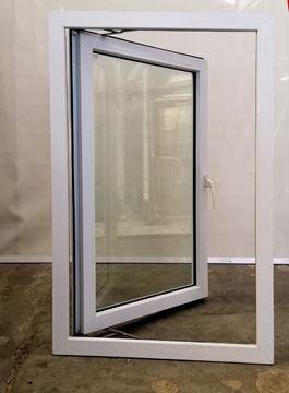 Imagen de Ventana PVC DVH 80 x 120 doble vidrio batiente - STKB80120-02