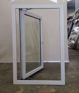 Imagen de Ventana PVC DVH 80 x 120 doble vidrio batiente - STKB80120-03