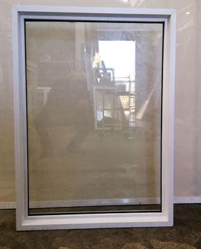 Imagen de Ventana PVC DVH 87.5 x 110  doble vidrio fijo - MEDF87110-01