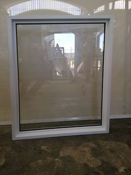 Imagen de Ventana PVC DVH 86 x 109  doble vidrio fijo - MED86109-01