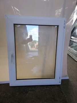 Imagen de Ventana PVC DVH 80 x 100  doble vidrio  batiente - STKB80100