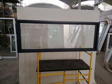 Imagen de Ventana PVC DVH 160x60 doble vidrio fijo GRIS ANTRACITA - MEDFG16060