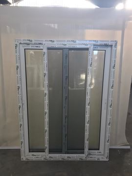 Imagen de Ventana PVC DVH 120 x 160 doble vidrio corredizas